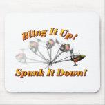 Bling It Spank It Mousepads