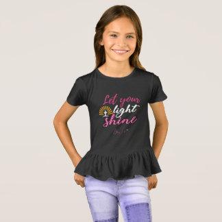 Bling Life Let Your Light Shine Girls Shirt