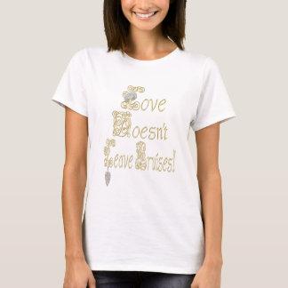 Bling-Love Doesn't Leave Bruises! T-Shirt