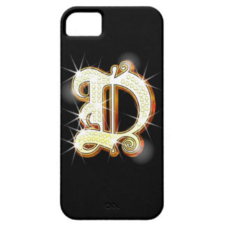 Bling Monogram D iPhone 5 Case