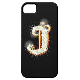 Bling Monogram J iPhone 5 Case
