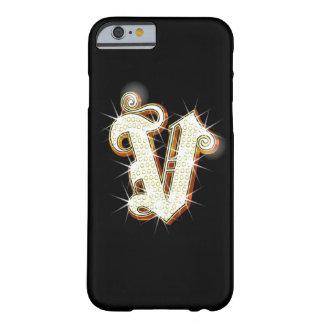 Bling Monogram V iPhone 6 case