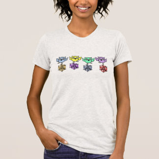Bling Owl Faux Rhinestone T-shirts