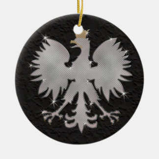 Bling Polish Eagle Ornament