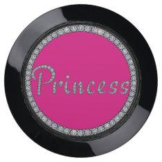 Bling Princess Design Usb Charging Station at Zazzle