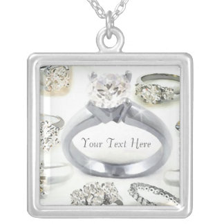 Bling Rings Personalized Necklace