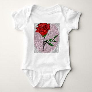 Bling Rose Baby Bodysuit