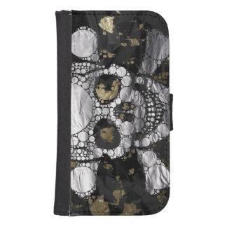 Bling Skull and Bones Samsung Galaxy Wallet Case Phone Wallet Case