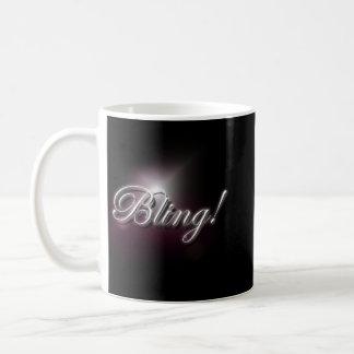 """""""Bling!"""" slogan mug"""