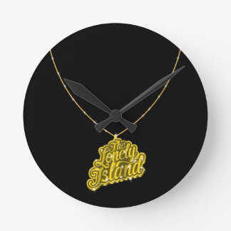 Bling Small Round Clock