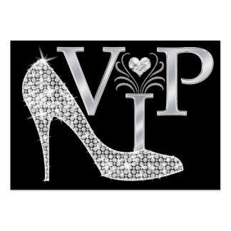 Bling VIP Card - SRF Large Business Cards (Pack Of 100)