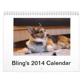 Bling's 2014 Calendar