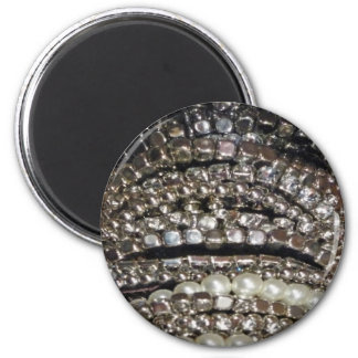 Blingy 2 Inch Round Magnet