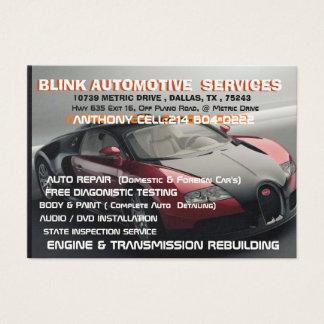 BLINK AUTO 10739 METRIC DRIVE DALLAS TX 75243 @ AN BUSINESS CARD