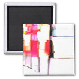 """""""Blink"""" Digital Abstract Fridge Magnet"""