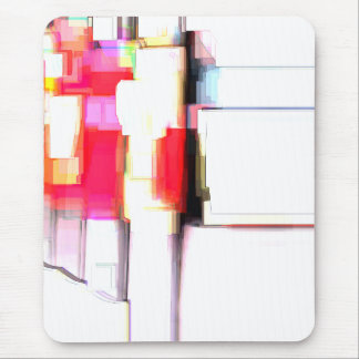 """""""Blink"""" Digital Abstract Mouse Pad"""
