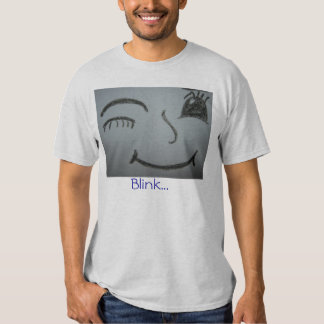 blink if you like me t-shirt