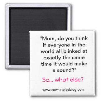 Blink magnet