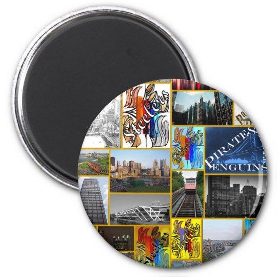 Blink Pittsburgh Magnet