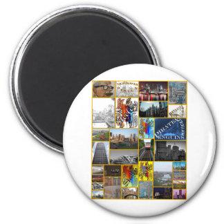 Blink Pittsburgh Fridge Magnets