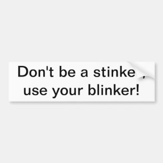 blinker2 pegatina de parachoque