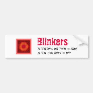 Blinkers Bumper Sticker
