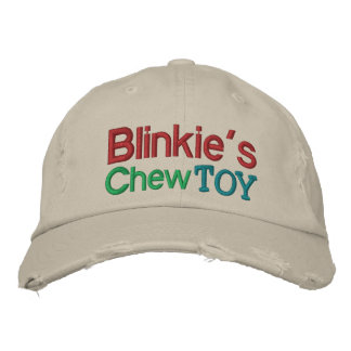 Blinkie s Chew Toy Cap by SRF Embroidered Hats