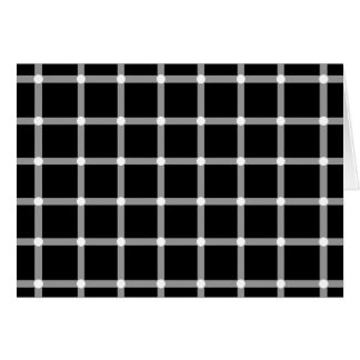 Blinking Dots - Optical Illusion Greeting Card