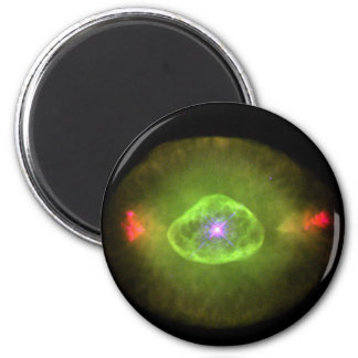 Blinking planetary in space refrigerator magnet