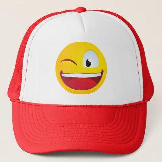 Blinking Smile Trucker Hat