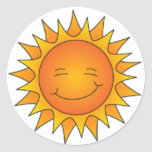 Blinking Sun Sticker