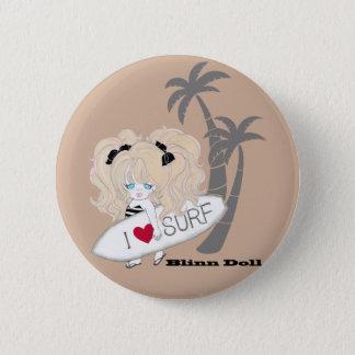 Blinn Doll-B batch Pinback Button
