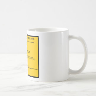 Bliss Bibliographic Classification System Coffee Mug
