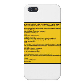 Bliss Bibliographic Classification System iPhone SE/5/5s Cover