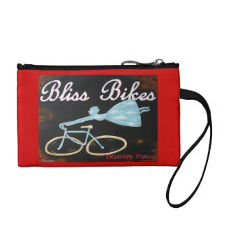 Bliss Bikes Coin Card and Keys Clutch