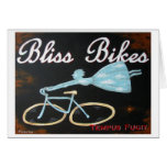 Bliss Bikes Notecard Greeting Cards