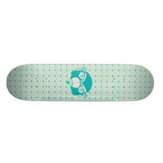 Bliss Board Blue Green Skate Board Decks