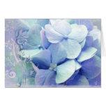 Bliss greeting card Lavender-Blue Hydra