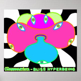 bliss hyperbeing poster
