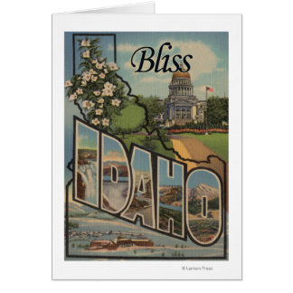 Bliss, IdahoLarge Letter ScenesBliss, ID Cards