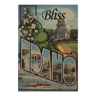 Bliss, IdahoLarge Letter ScenesBliss, ID Poster