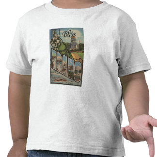 Bliss, IdahoLarge Letter ScenesBliss, ID T-shirts