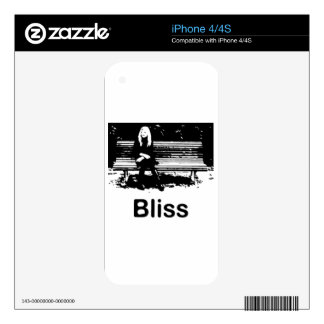 Bliss iPhone 4S Decals