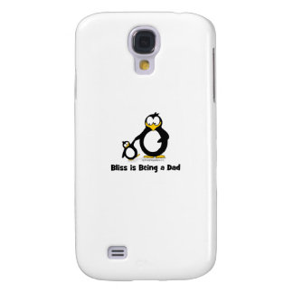 Bliss is being a Dad Penguin Samsung Galaxy S4 Covers