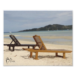 Bliss on a tropical island photo print