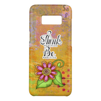 Bliss Positive Thought Doodle Flower Galaxy 8 Case