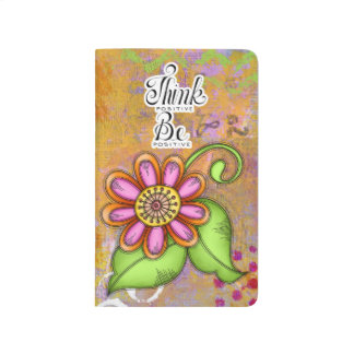 Bliss Positive Thought Doodle Flower Journal