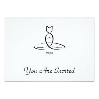 Bliss - Regular style text. Card