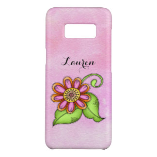 Bliss Watercolor Doodle Flower Galaxy 8 OtterBox Case-Mate Samsung Galaxy S8 Case