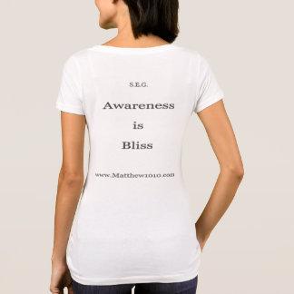 Bliss wm Am Apprl pol cott scoop neck T T-Shirt